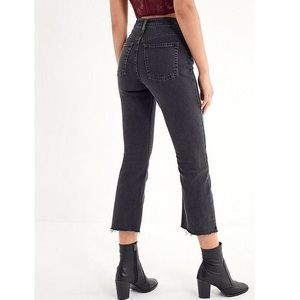BDG kickflare High rise crop jeans